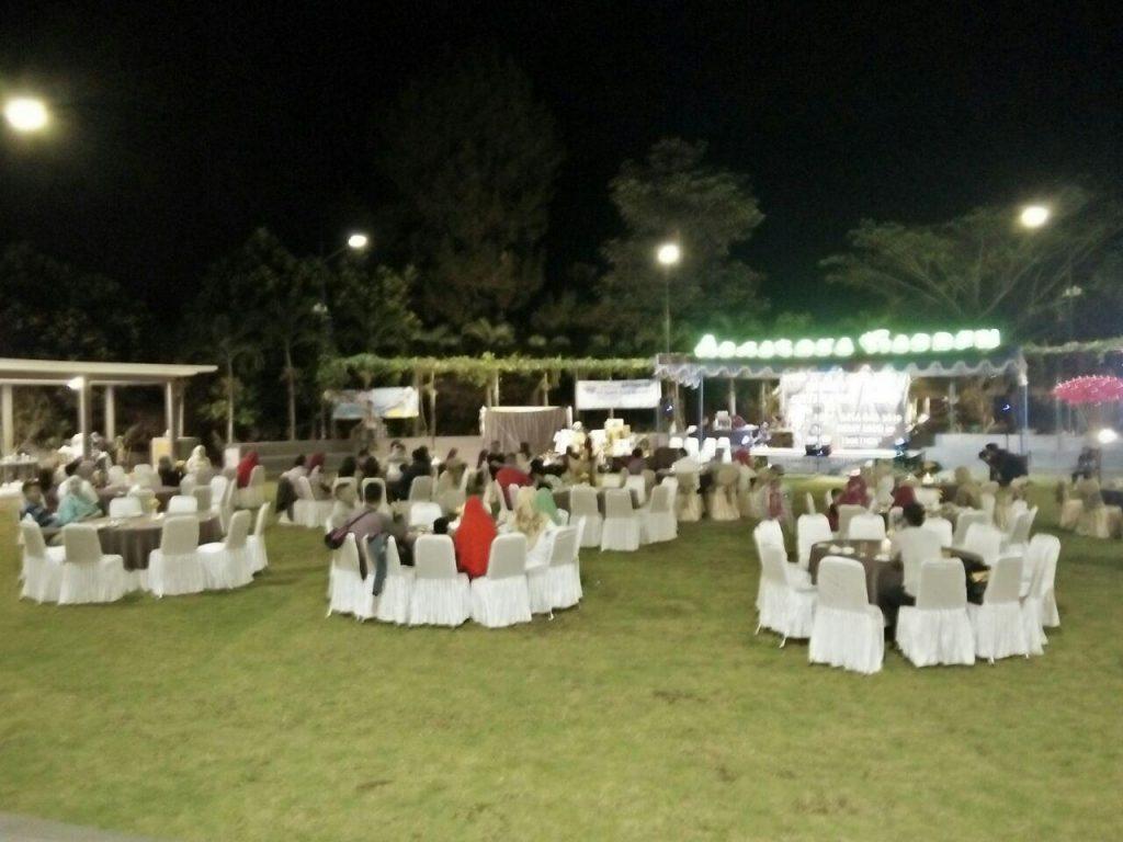 Garden gala dinner Pertadaya gas