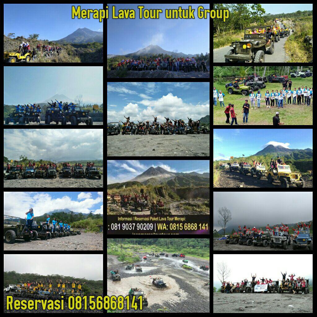 Program Outbund Amazing Race di Merapi dengan Jeep Merapi Lava Tour