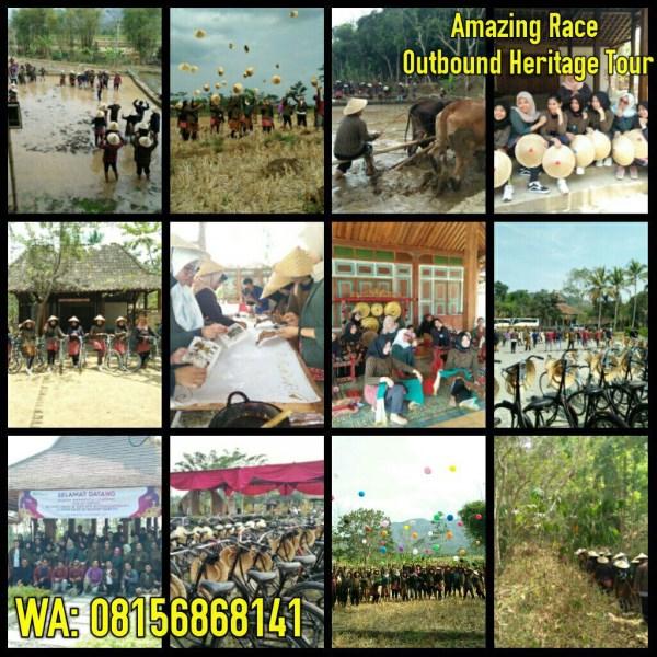 Program Employee Gathering Budaya di Desa wisata Karangrejo Setumbu Borobudur