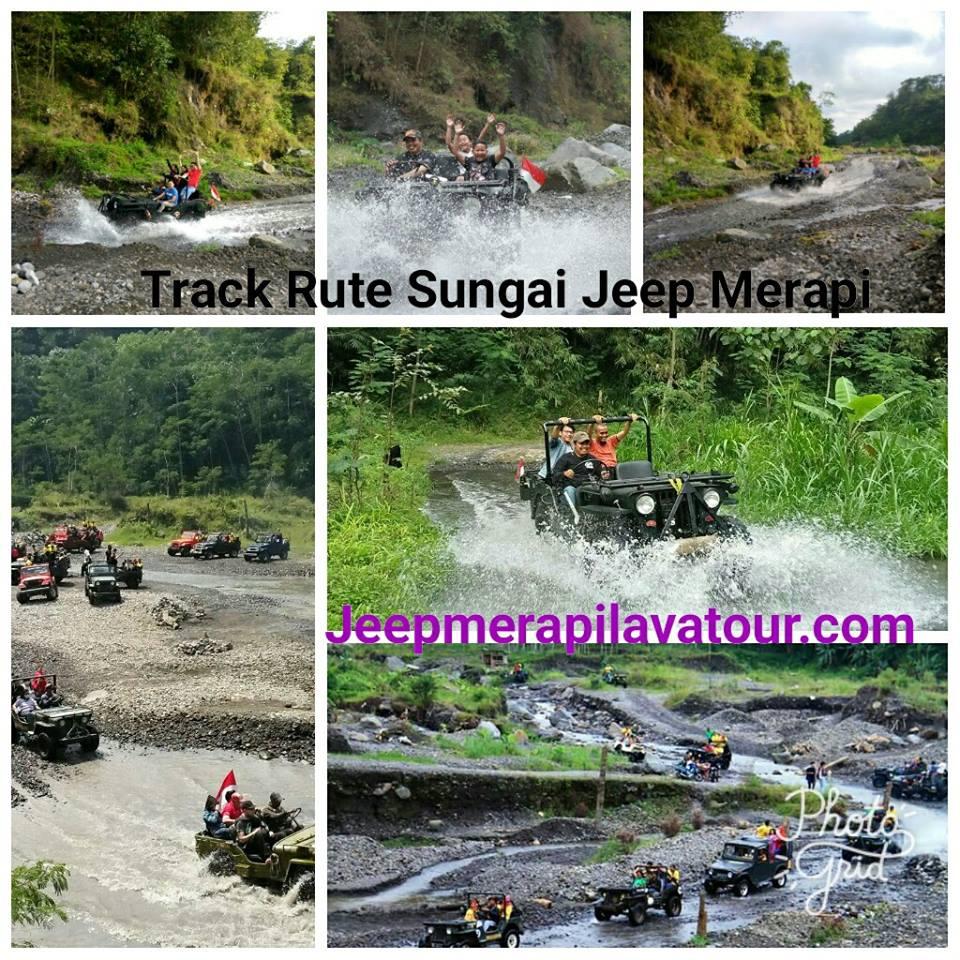 Rute air jeep merapi