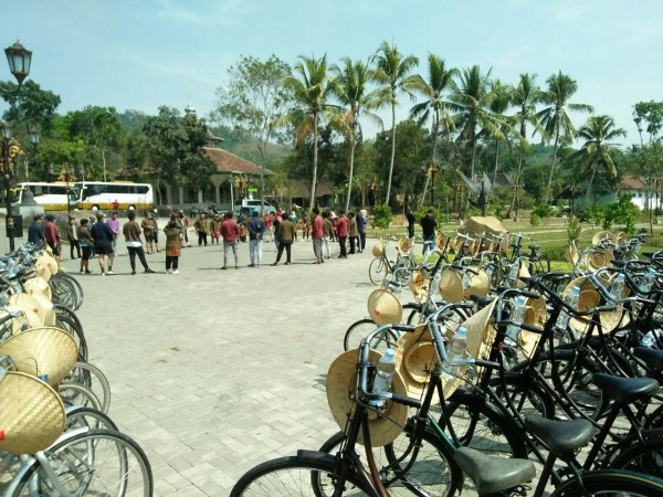 Rental Sepeda Onthel di Jogja