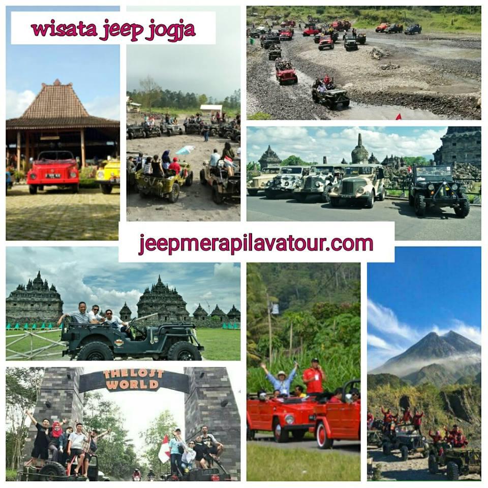 PAKET JEEP WISATA JOGJA:Wisata Jeep Merapi Lava Tour, Jeep Wisata Taman Gumuk pasir dan Susur pantai Parangtritis, Jeep Wisata Breksi, Jeep wisata Candi Prambanan, Jeep Wisata Pindul, Jeep wisata Pinus Becici, Wisata VW Tour Borobudur, Jeep Wisata Sususr Pantai Gunungkidul. D