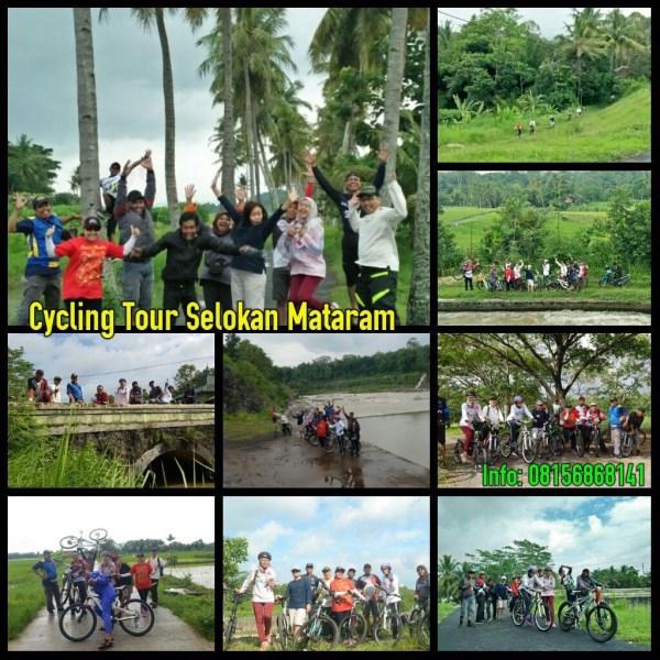 paket wisata sepeda dan rute sepeda di Jogja
