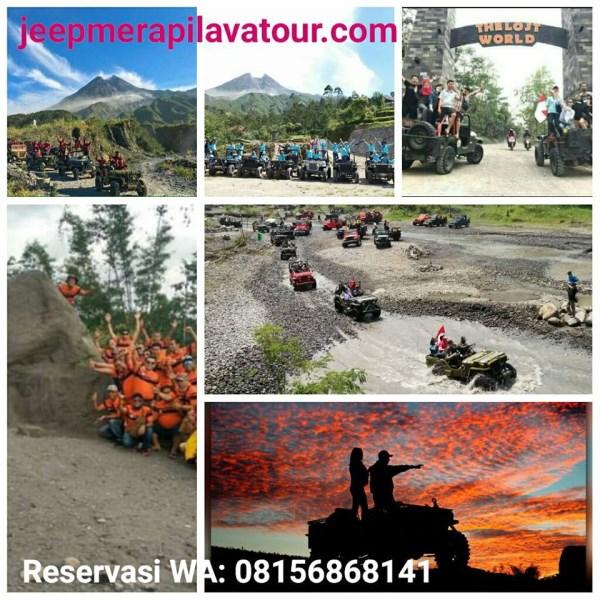 14 Rute dan Harga Baru Jeep Lava Tour Merapi Selama Covid 19
