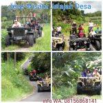 jeep wisata blusukan pedesaan