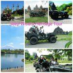 wisata jeep di candi prambanan